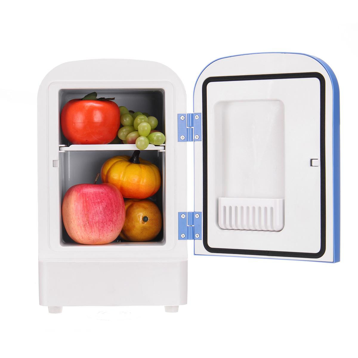 4L Авто Теплый Двойной Портативный Мини Полупроводниковая Изоляция Авто Холодильник