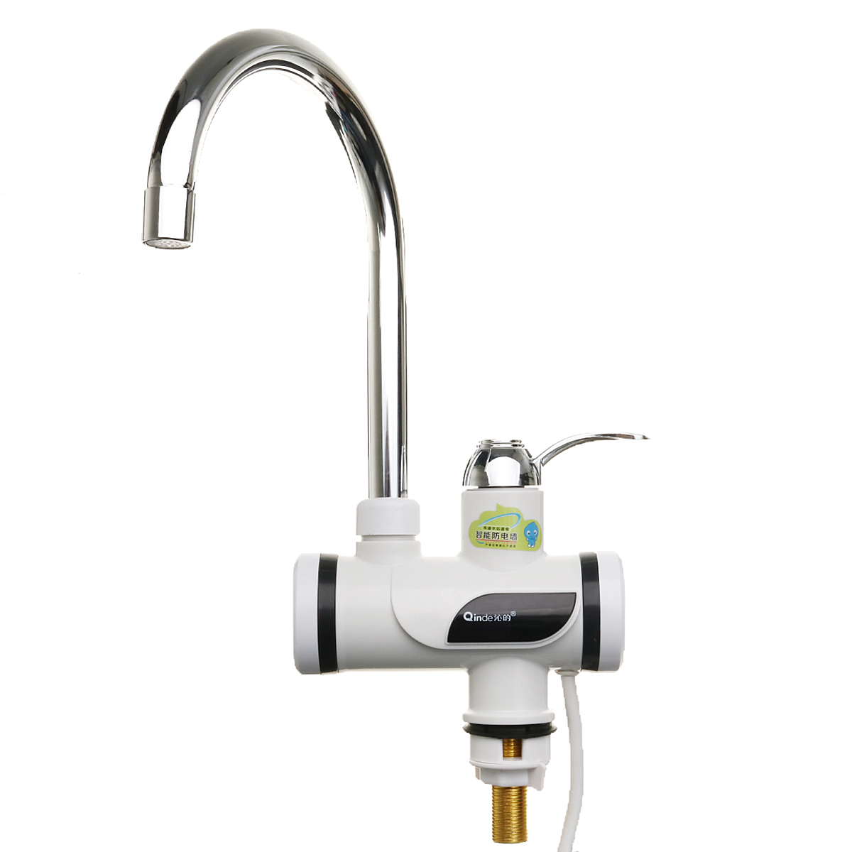220V 3000W Instant Electric Heating Tap Electric Hot Water Faucet with Leakage Protection Plug