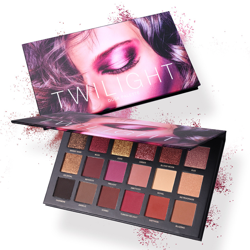 18 Colors Shimmer Matte Eyeshadow Palette