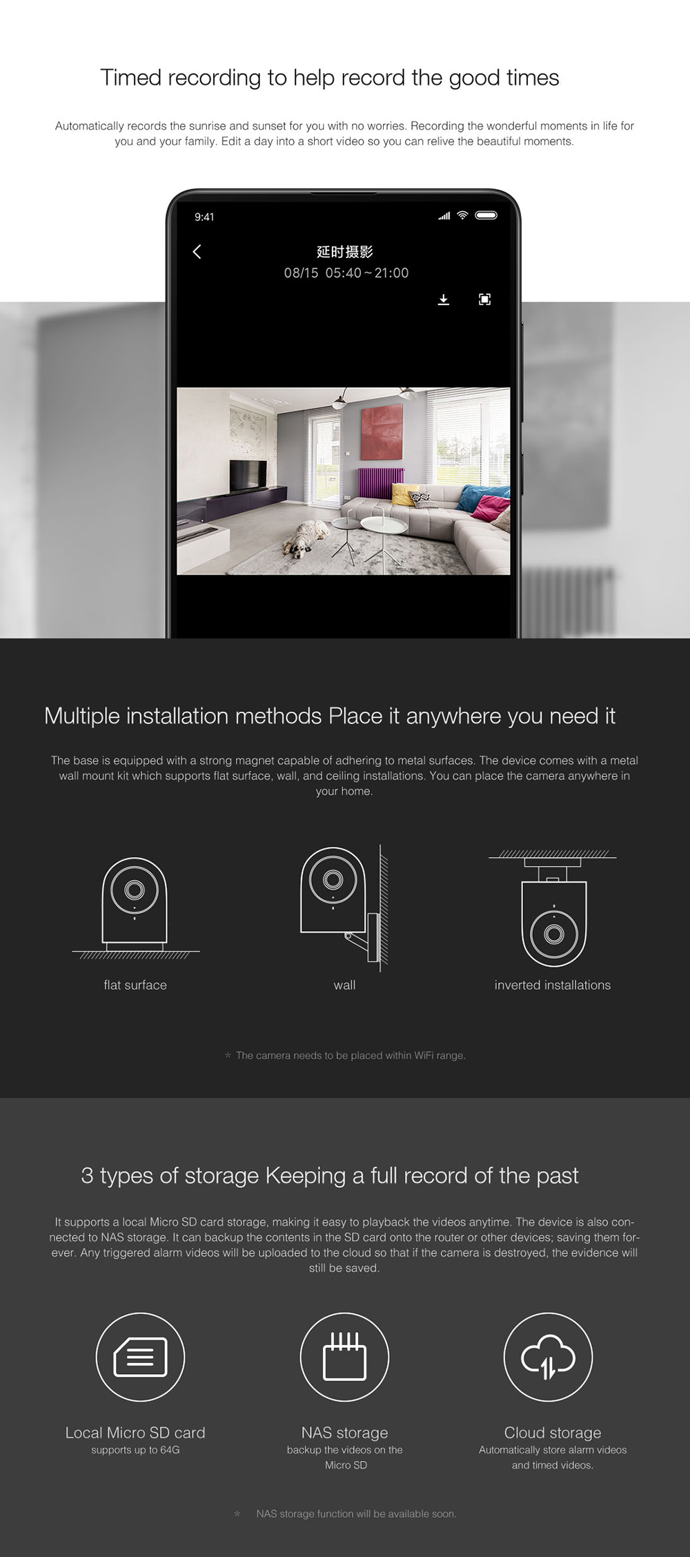 Aqara G2 With Gateway Function 1080P WIFI Smart IP Camera Compatible with  Mi Home APP From Xiaomi Eco-System