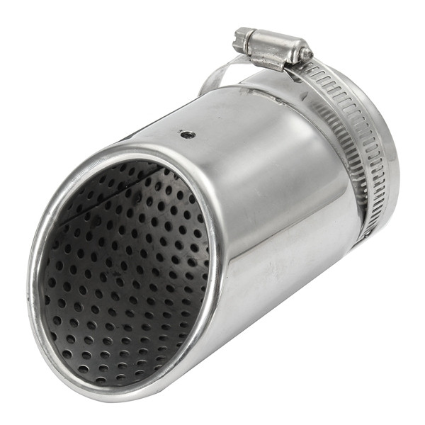 35-65mm Stainless Exhaust Muffler Pipe Silencer T