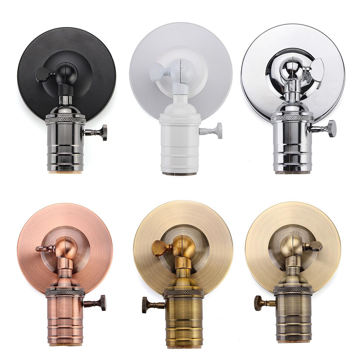E27 / E26 современный Edison марочные потолок держатель лампы свет светильник стены розетка Sconce