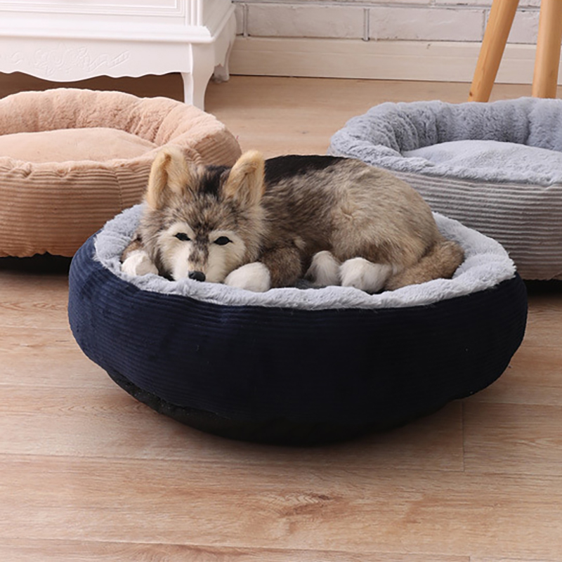 3 цвета против царапин зима теплая кровать питомника питомник Собака Кот Soft плюшевые гнезда кровать питомца