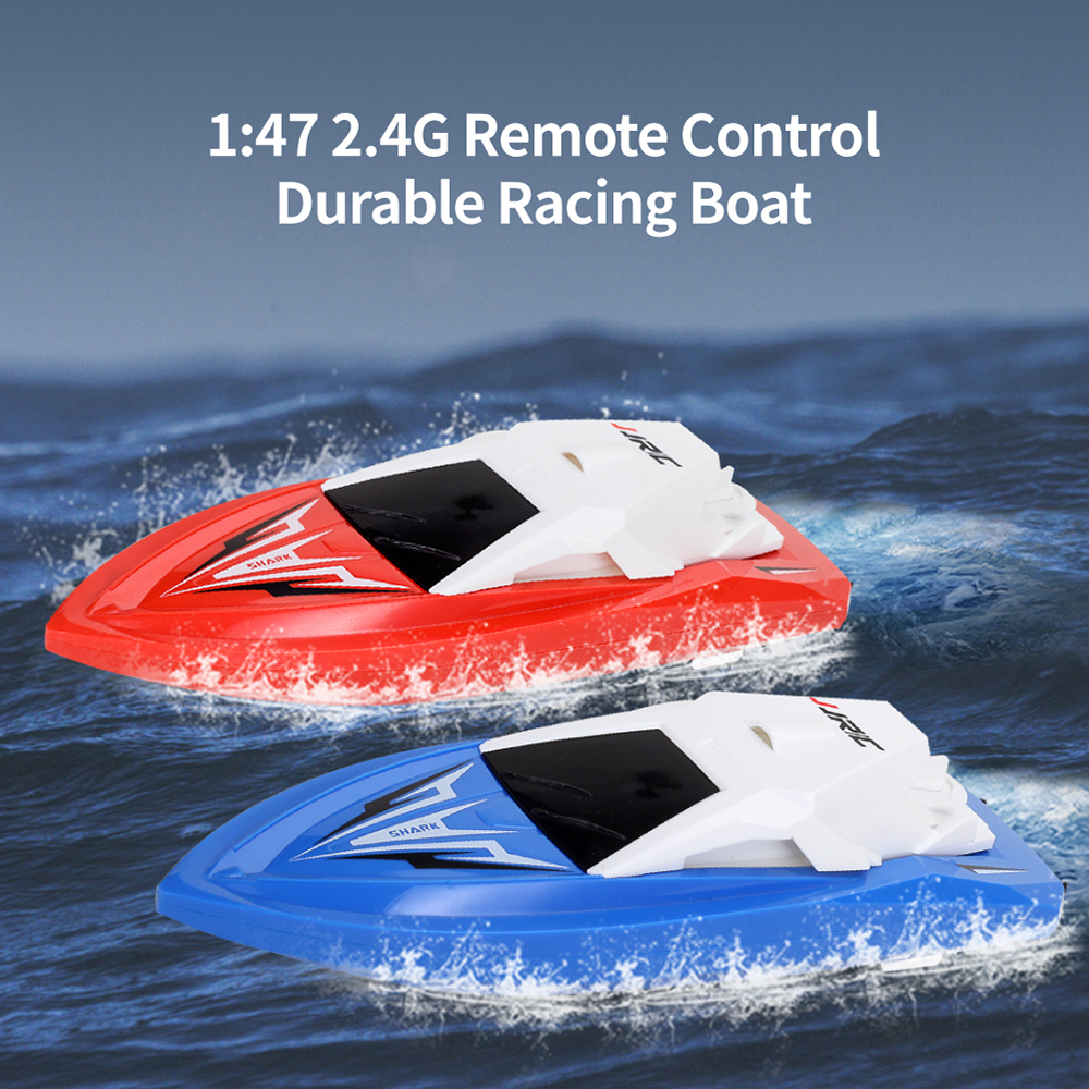 JJRC S5 Baby Shark 1/47 2 4G Electric Rc Boat with Dual Motor Racing RTR  Ship Model