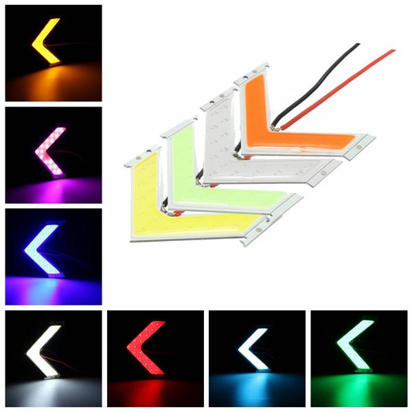Многоцветные LED початка стрелка панели автомобиля боковой индикатор сигнала поворота зеркало с подсветкой