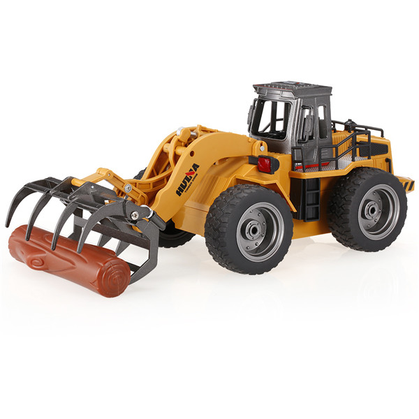 HuiNa Toys 1590 1/18 2.4Ghz 6CH Timber Grab Engineering Vehicles Alloy Engineering Series RC Car
