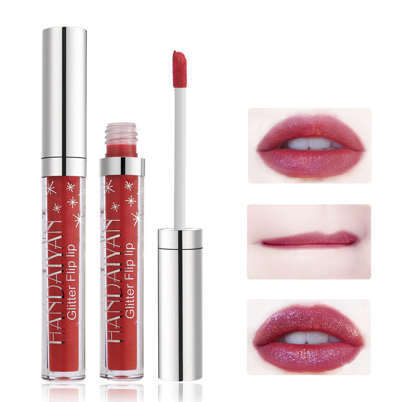 7 Colors Glitter Magical Color Shimmer Lip Gloss