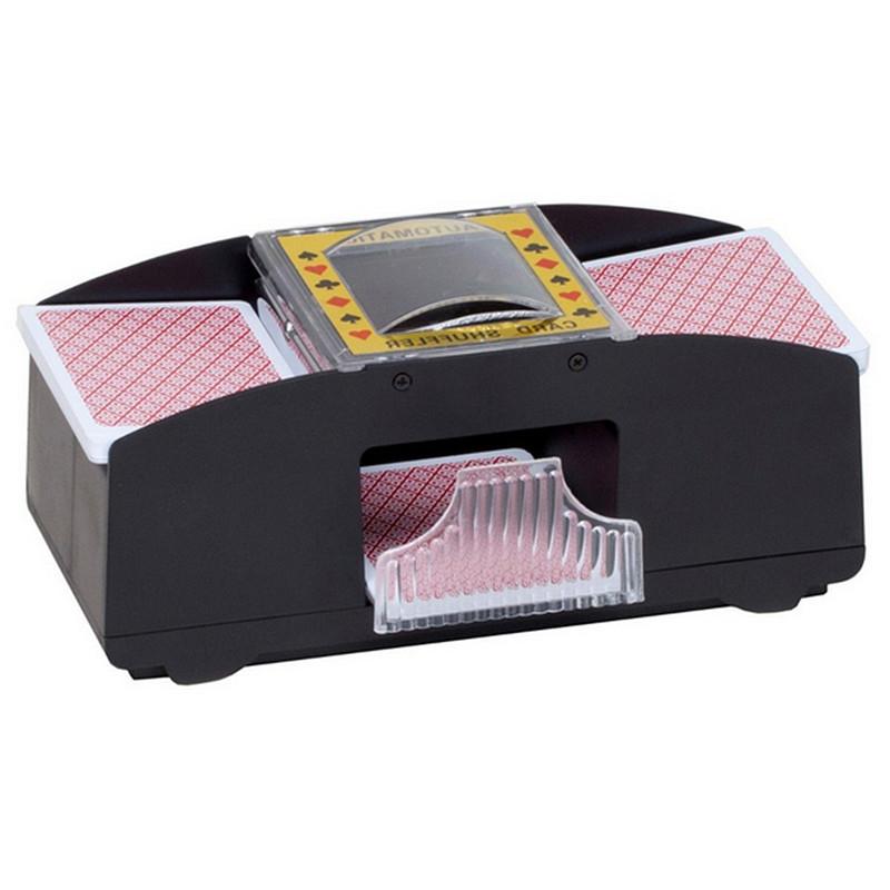 1-2 Deck Of Playing Card Poker Automatic Plastic Card Shuffler Shuffles Card Machine