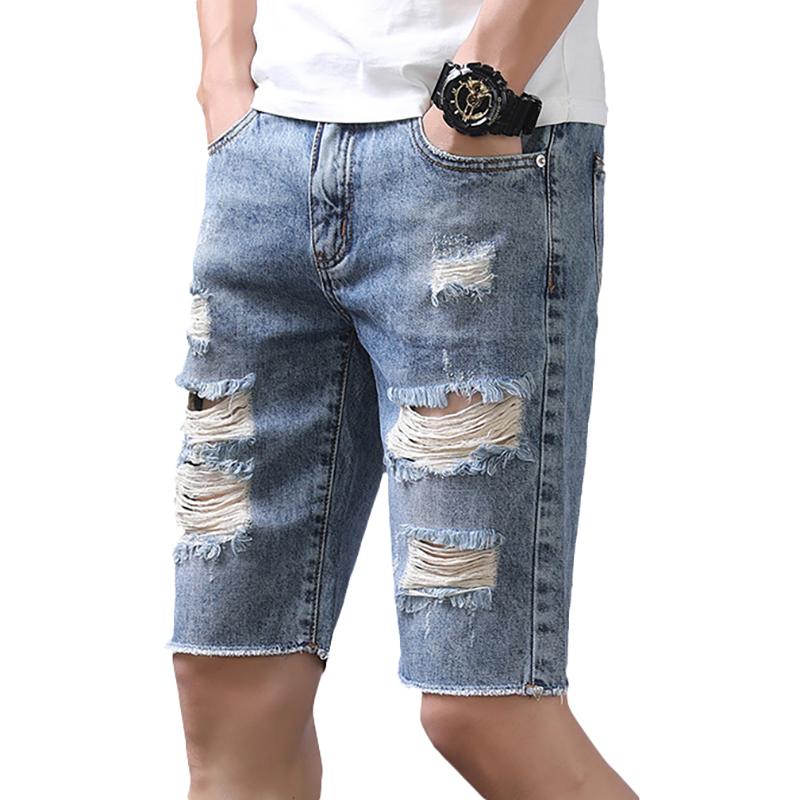 JeansRippedFashionJeansRippedSlim Jeans Délavé