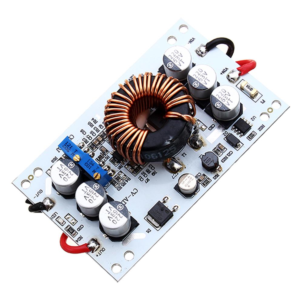 600 Watt Aluminium Step Up Konstante Spannung Strom Einstellbare Netzteil Modul LED Boost Drive Boost Gebühr