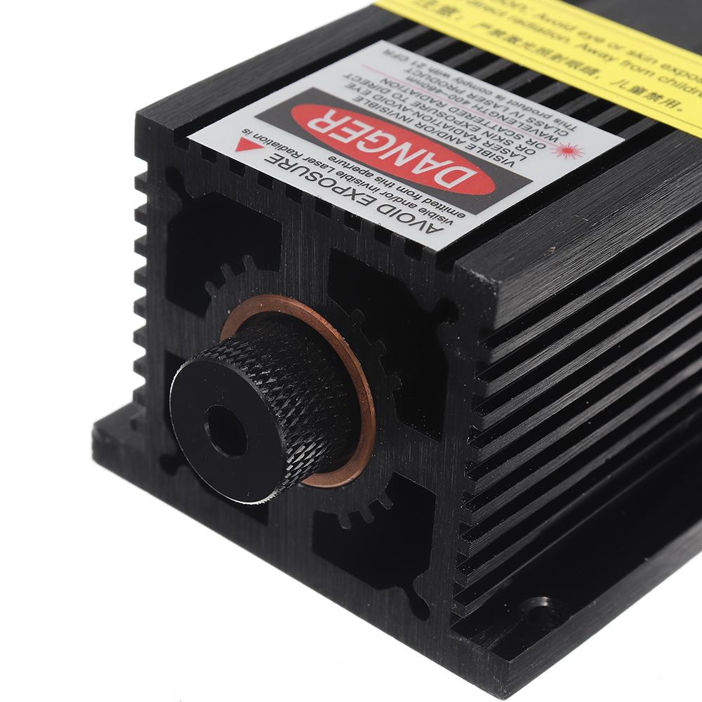 T05-5500 5500mW 445nm Blue Laser Module TTL&PWM Modulation 2.54-3P+2.54-2P for EleksMaker DIY Laser Engraver