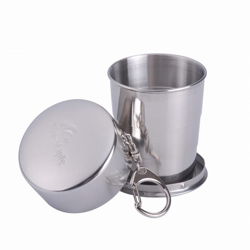 Fire-Maple 140ml Portable Кемпинг Кубок для пикника из нержавеющей стали Складной легкий вес Кружка для воды FMP-302