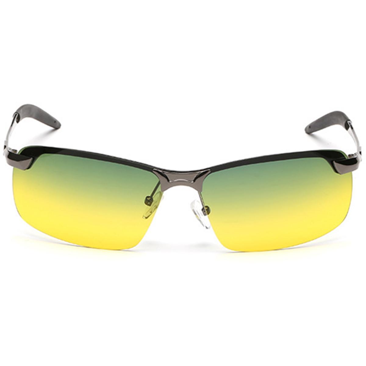 Lunettes de soleil polarisées de jour de vision de jour de mode conduisant des lunettes de verres UV400
