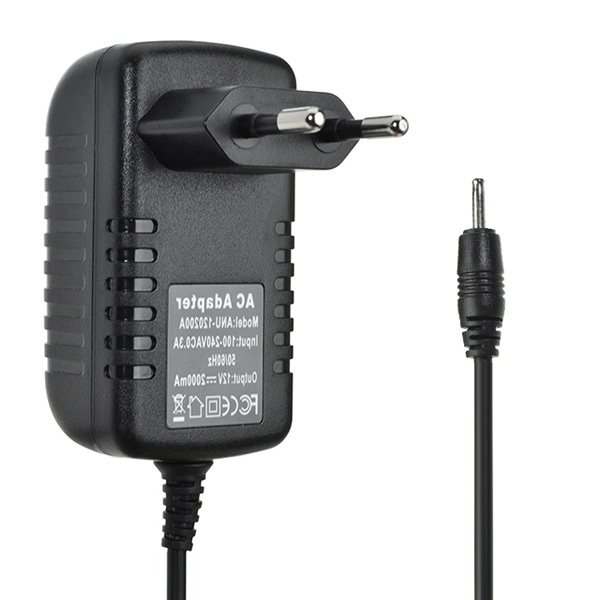 Практический универсальный 2.5 мм 12v 2a ес адаптер питания переменного тока зарядное устройство для планшета фото