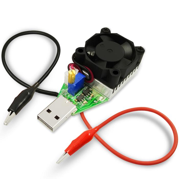 USB DC Электронный нагрузочный резистор Батарея Power Bank Capacity Testing Charger Регулируемое постоянное напряжение Напряжение старения
