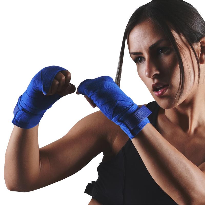KALOAD2,5мБоксСпортивныйбинт Санда Муайтай Борьба Повязки Бандаж Бокс Обучение Перчатки