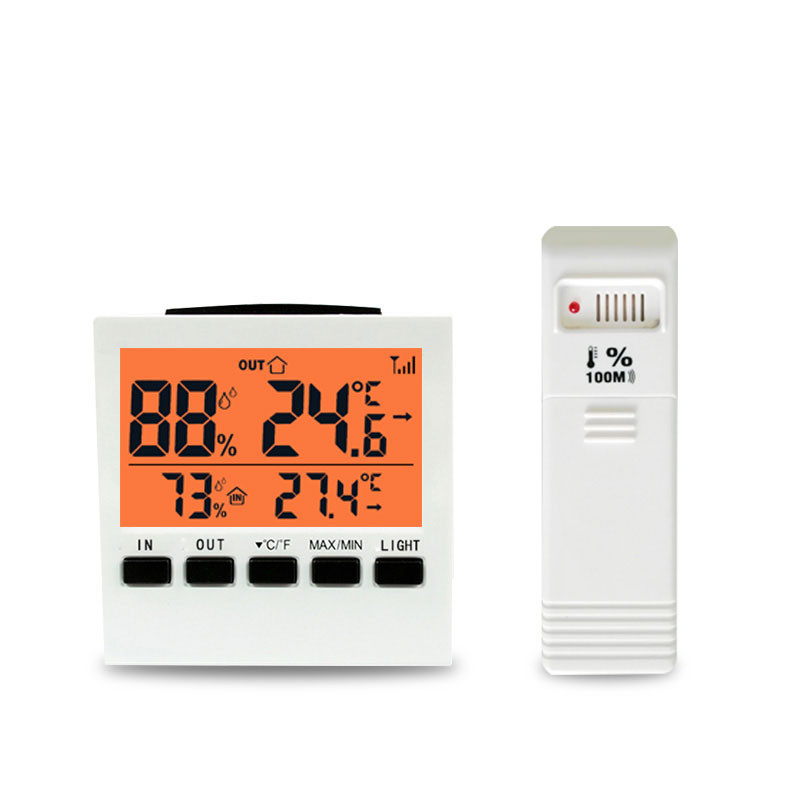 Digital Thermometer Hygrometer Temperature Sensor Humidity Meter Indoor MIN/MAX Records Home Monitor LCD Weather Station