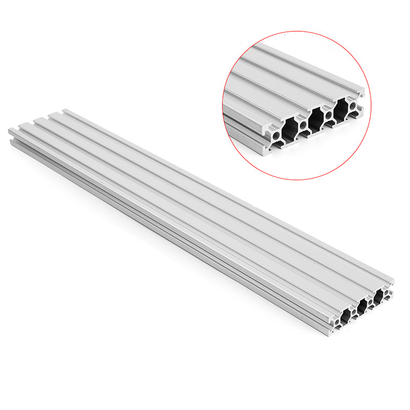 160x20mm Aluminum Extrusion 1000mm Length T-Slot Table