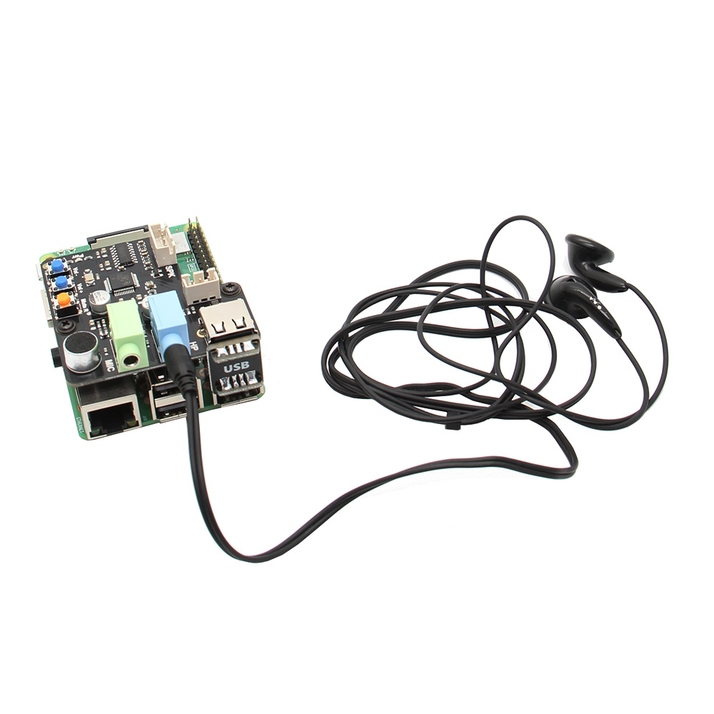 X350 USB Audio Board Support Microphone Input / Audio Input & Output For  PC/Raspberry Pi 3 Model B+(plus)/3B/2B/B+