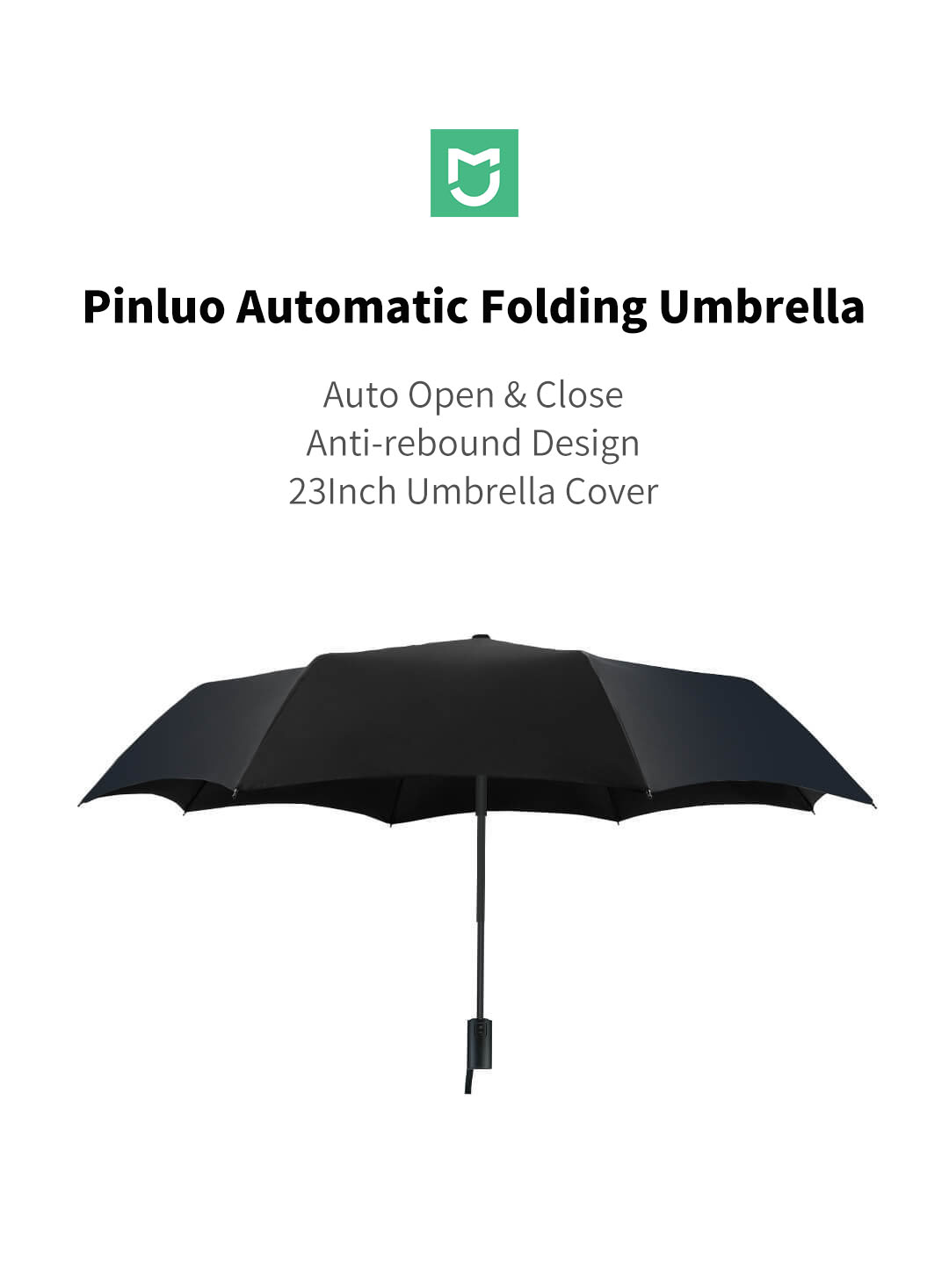 e0dcad14553e Pinluo Automatic Umbrella From Xiaomi Youpin Sunny Rainy Aluminum Windproof  Waterproof UV Parasol for Man Woman
