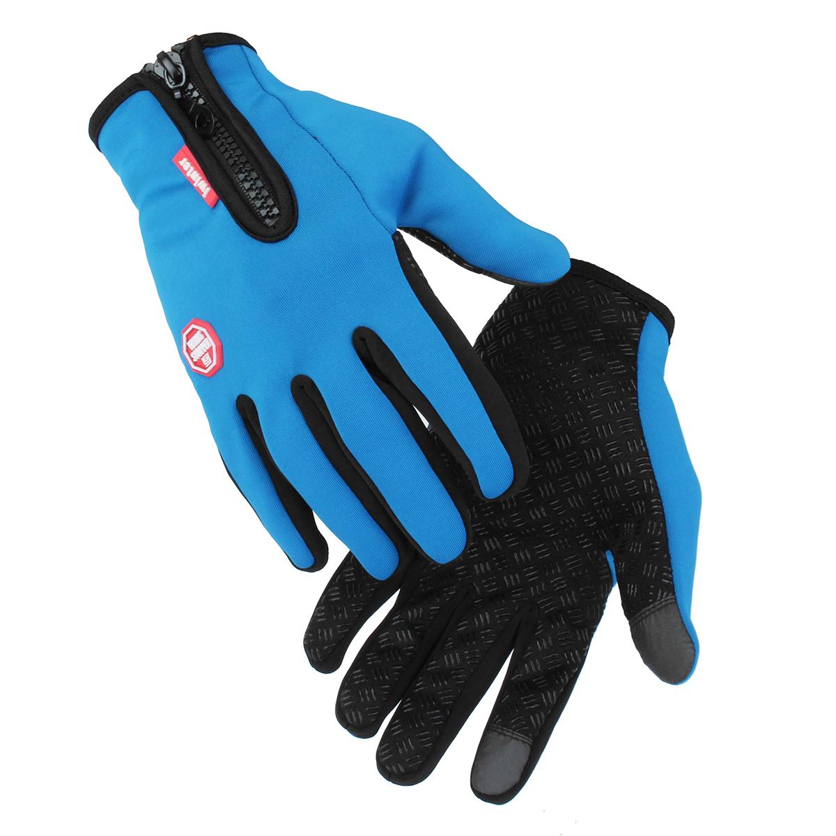 ЭкранTouchBikeПерчаткиВесенняяосень Keep Warm Moto Перчатки Full Finger Motorbike унисекс