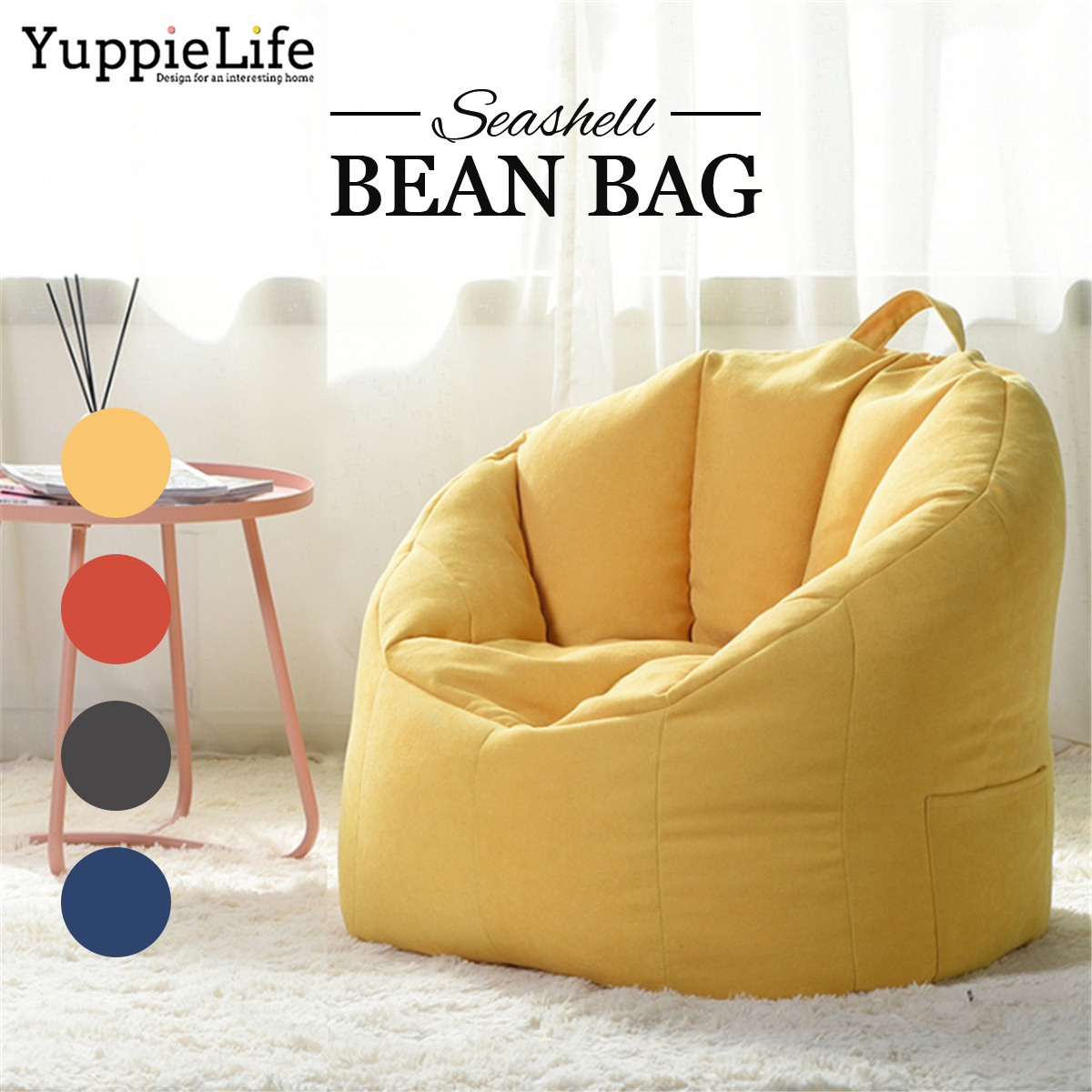 Awe Inspiring Big Joe Milano Bean Bag Chair Multiple Colors Available Comfort For Kids Adult Covers Caraccident5 Cool Chair Designs And Ideas Caraccident5Info