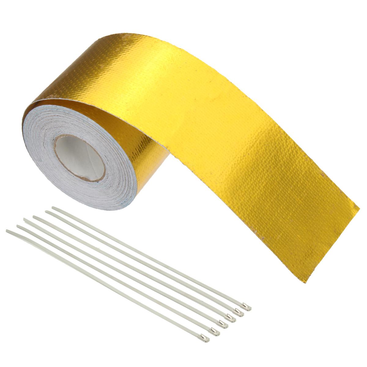 5x900CM Aluminium Foil Thermal Reflective Heat Sh