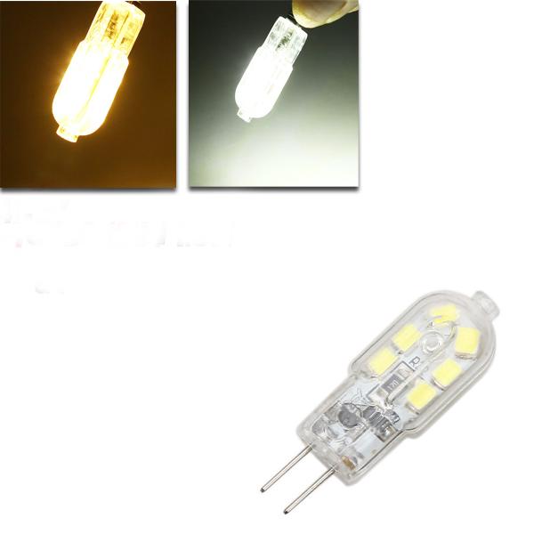 g4 ليد لمبة 1.5 واط 120lm 12 سمد النقي الأبيض / الدافئة الأبيض الذرة ضوء الأضواء أس / دس 12 فولت