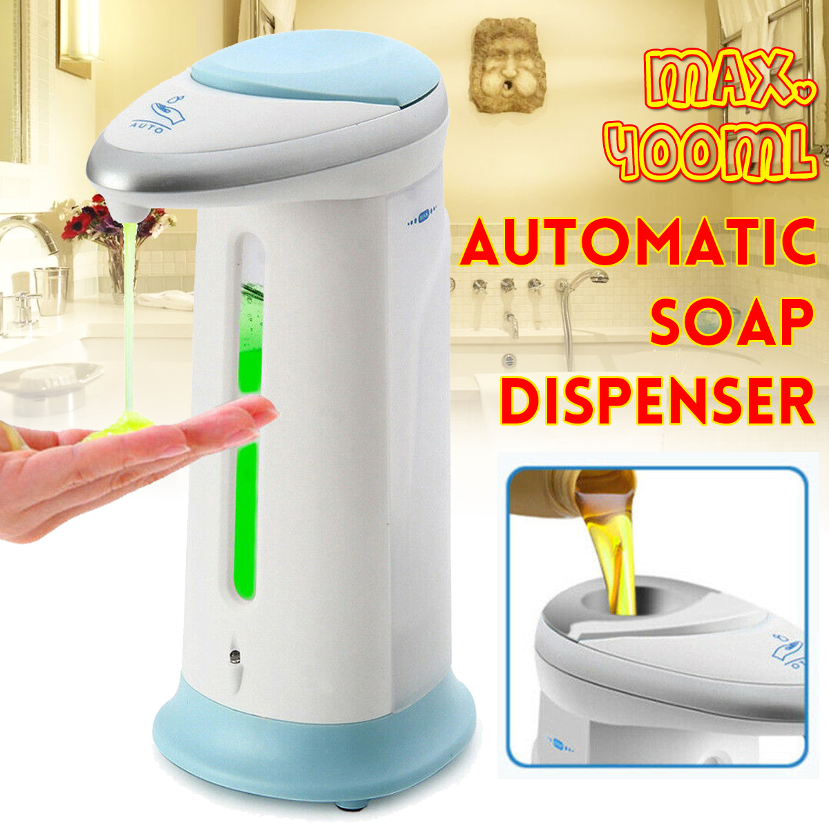 Automatic IR Sensor Handsfree Soap Dispenser 2