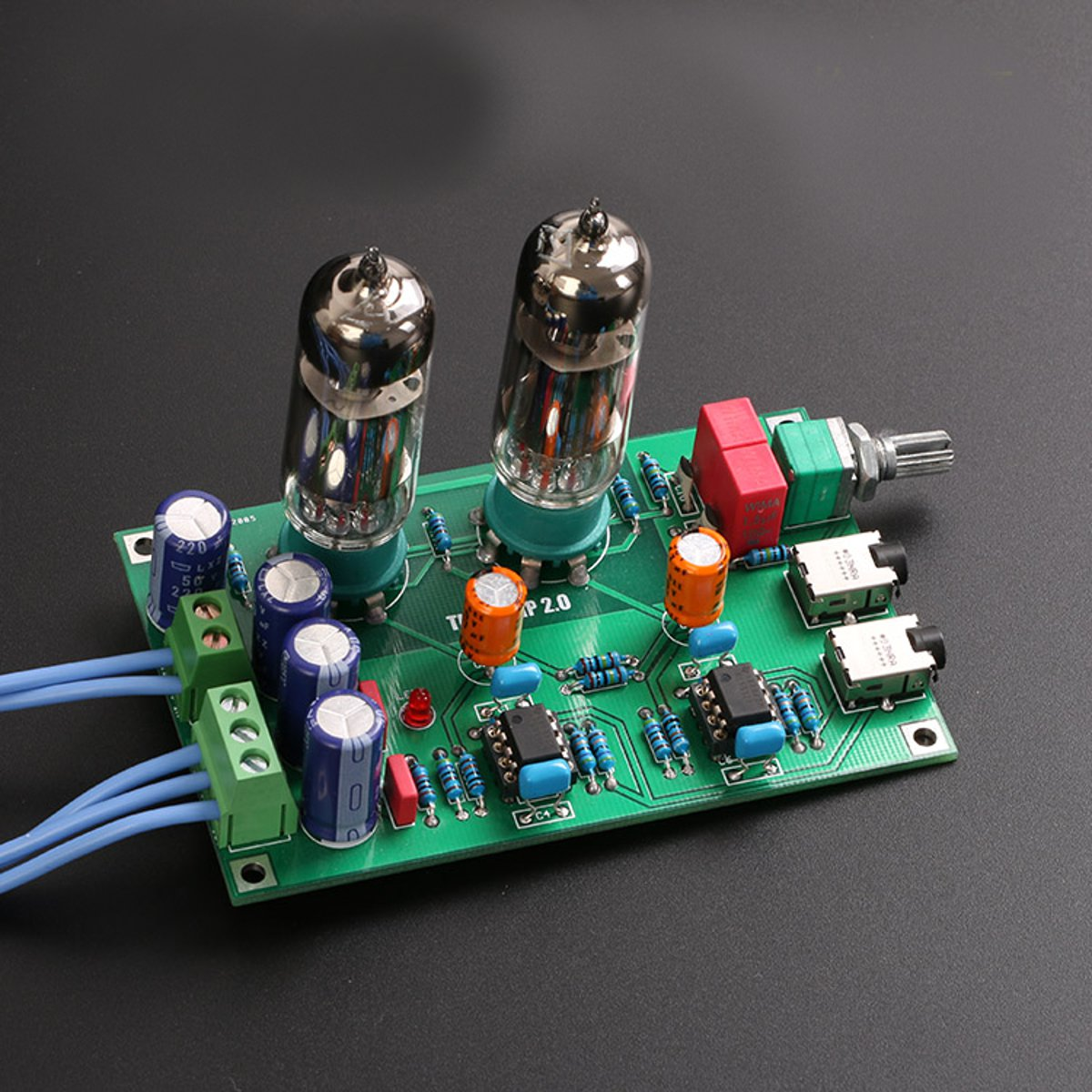 DIY Class A 6J5 Vacuum Tube Preamp Preamplifier HIFI Headphone Amplifier Kit