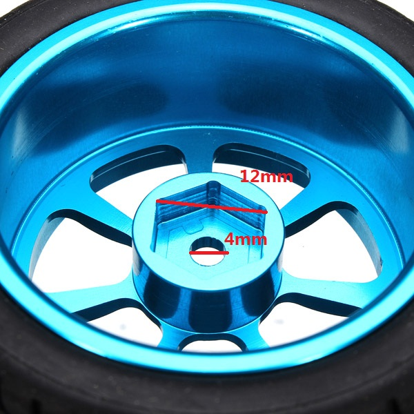 A-alloy Rims & Tires RC Car Wheels For 1/18 WLtoys A959-B A979-B A959 A969 A979 K929