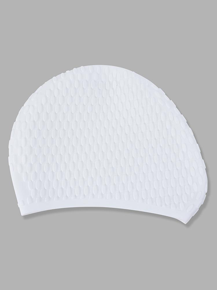 6be0915db71 men women comfy stretchy bubble swim cap waterproof silicone caps at ...