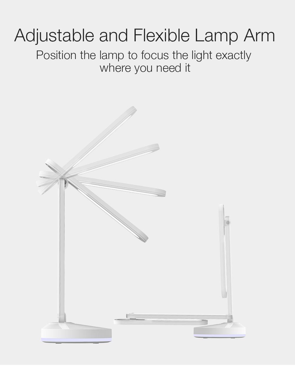 BlitzWolf Table Desk Lamp is foldable