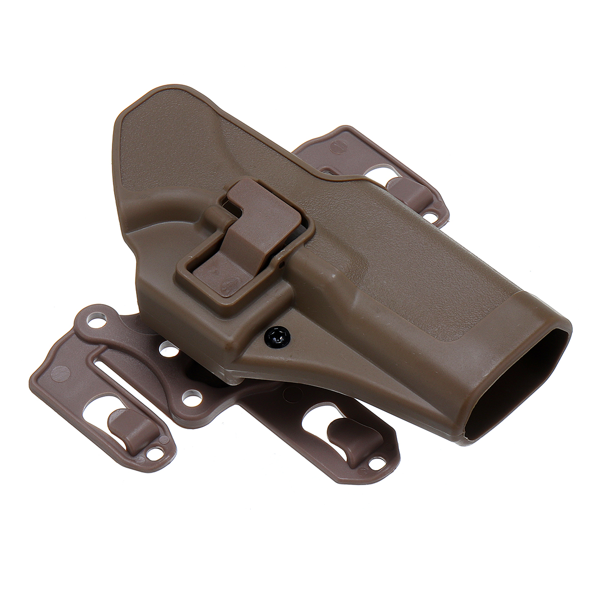 Right Waist Hand Belt Holster with Molle Platform for GLOCK 17 18 19 22 23  31