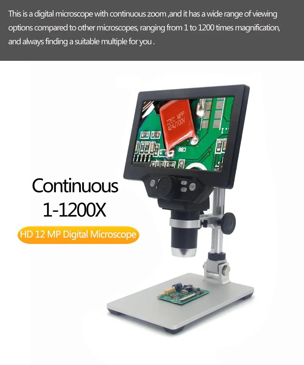 54e9a817 bdcd 4def 9381 aba22658ce9a MUSTOOL G1200 Digital Microscope 12MP 7 Inch Large Color Screen