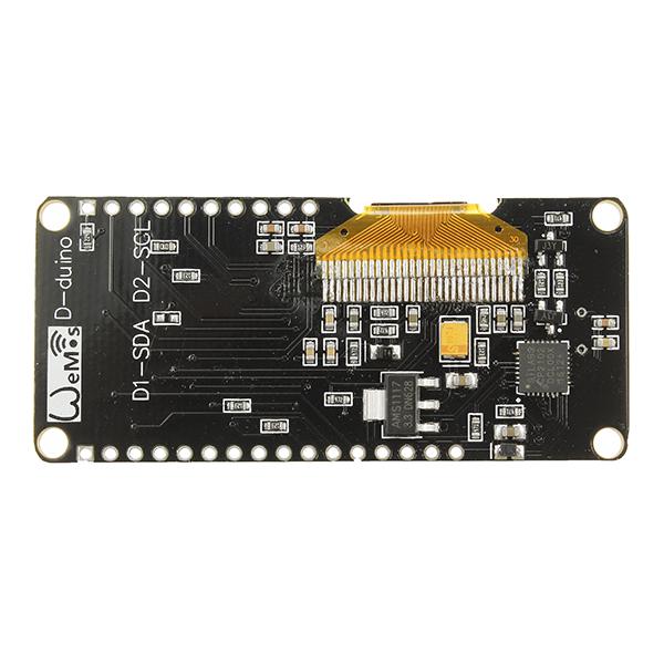 Geekcreit® Nodemcu Wifi And NodeMCU ESP8266 + 0 96 Inch OLED Module  Development Board For Arduino