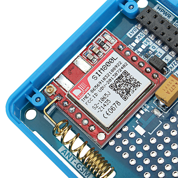 M5Stack GSM Module SIM800L Stackable IoT Development Board For Arduino  ESP32 With MIC & 3 5mm Headphone Jack