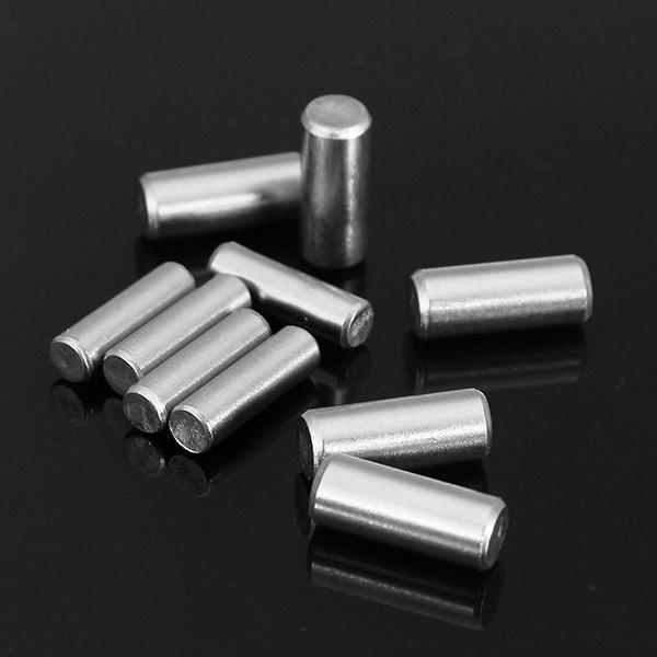 20штGB119304Цилиндрическийштифтиз нержавеющей стали Расположение контактов M3x10 / M4x10