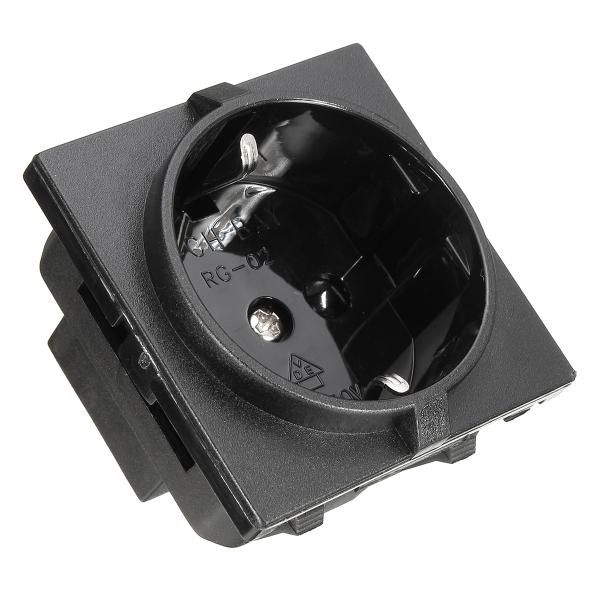 EU Plug Standard RG-02 250V 16A Power Outlet Single Plu