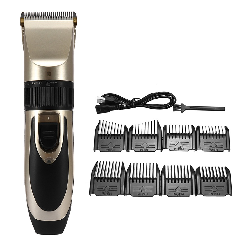 Rechargeable Hair Trimmer Electric Clipper Shaver Men Use