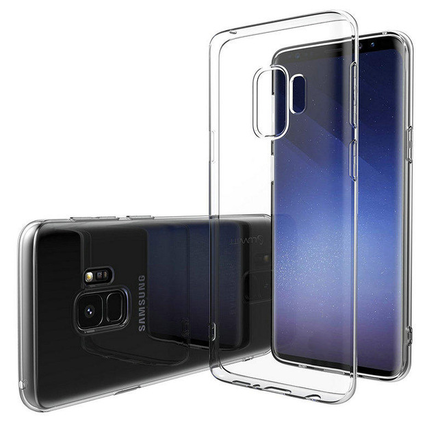 Soft TPU Ultra Thin Transparent Protective Case for Samsung Galaxy S9