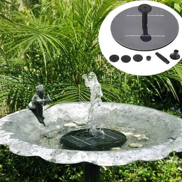 8v 1.4W мини солнечная панель бесщеточный водный сад насос с плавающей фонтан бассейн полива растений набор