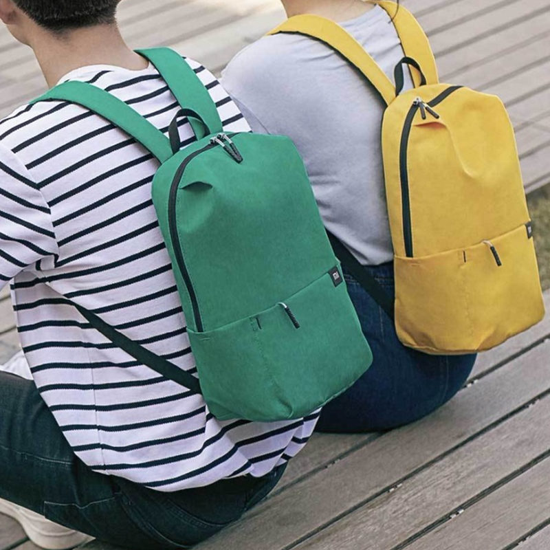 Original Xiaomi 10L Backpack Bag Women Men Sports Bag Level 4 Water Repellent Travel Camping Backbag 27