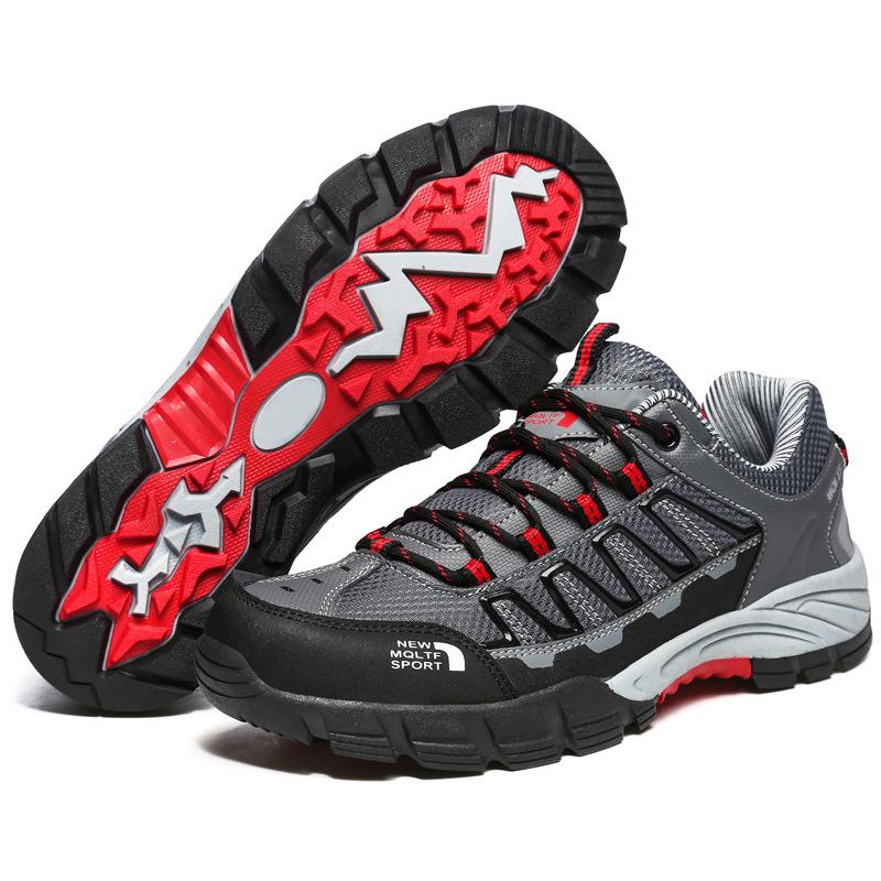 На открытом воздухе Пешеходная прогулка досуг Обувь Breathable Водонепроницаемы Противоскользящая износостойкая скалолазание