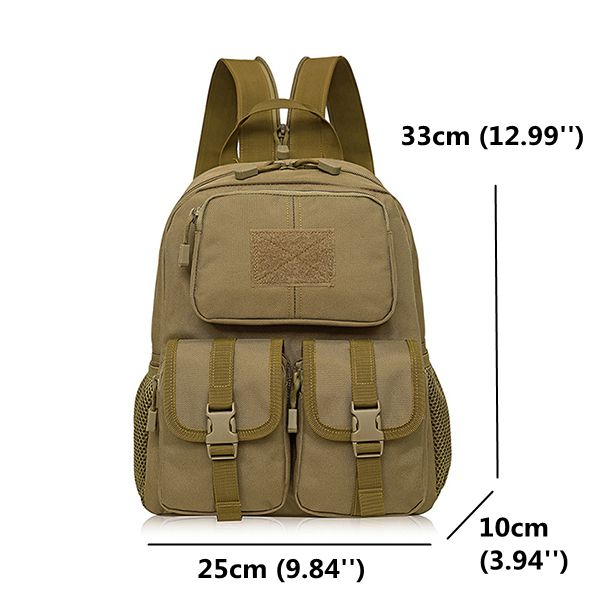 Men Nylon Tactical Backpack Outdoor Travel Bag Survival Backpacks
