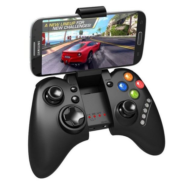IPega PG-9021 Rechargeable Multimedia WiFi bluetooth Controller with Stand for iPhone Android PC, Video Games Accessories  - buy with discount
