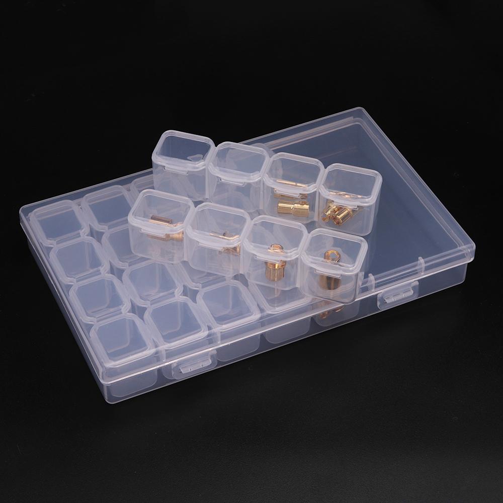 29 в 1 SMT Patch CHIP IC Component Коробка Демонтаж Хранение Коробка Болт Ногти Уплотнение для хранения мини-деталей Коробка