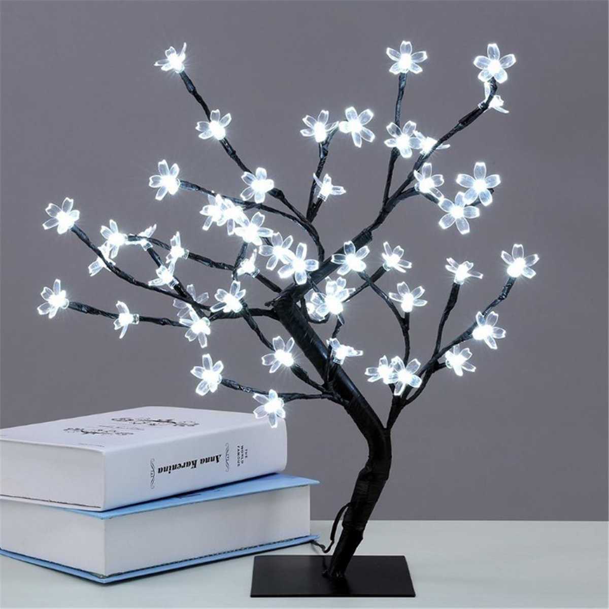 Lamp In A Box Table Lamp Japan Cherry Blossom Tree Sun 32