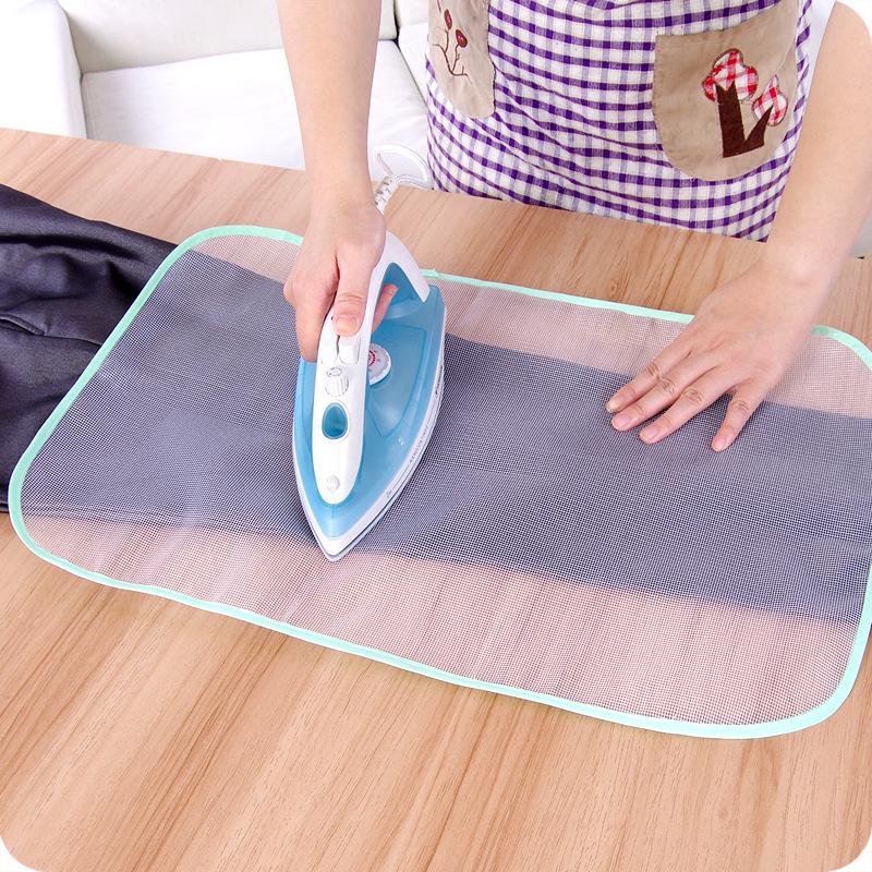 Honana Protective Press Mesh Ironing Cloth Guard Protect Delicate Garment Clothes Ironing Board Cover Mesh Cloth