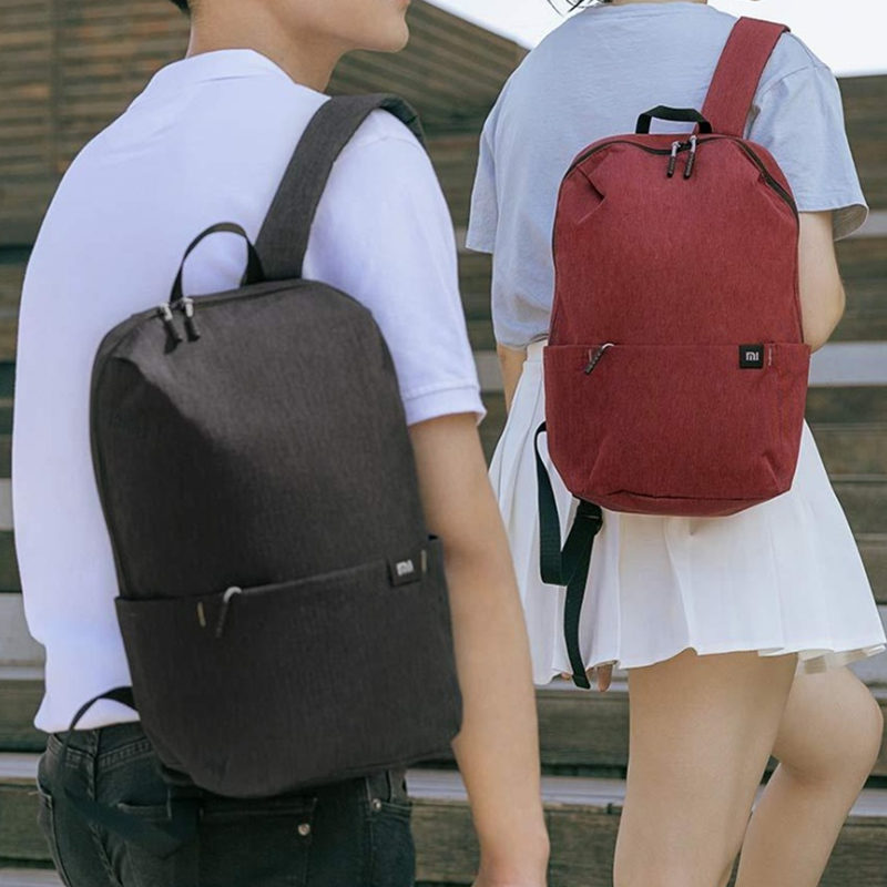 Original Xiaomi 10L Backpack Bag Women Men Sports Bag Level 4 Water Repellent Travel Camping Backbag 26